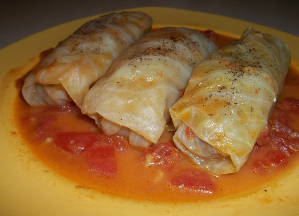 Tolma Stuffed Cabbage Leaves Georgian Recipes