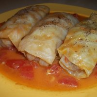 TOLMA - STUFFED CABBAGE LEAVES