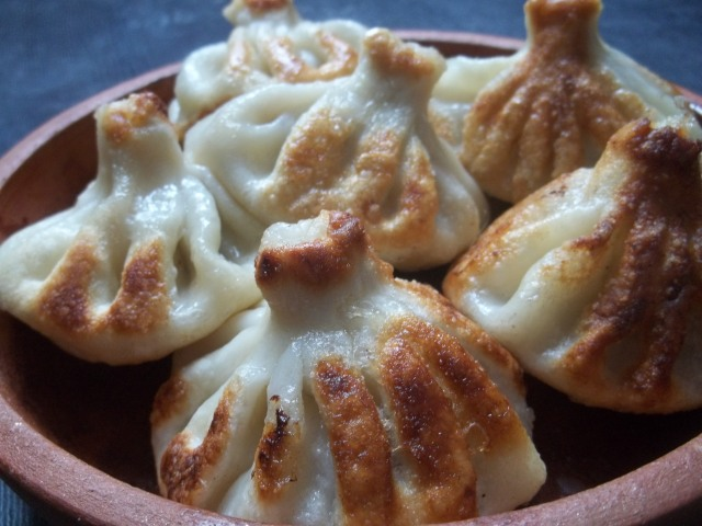Fried Khinkali