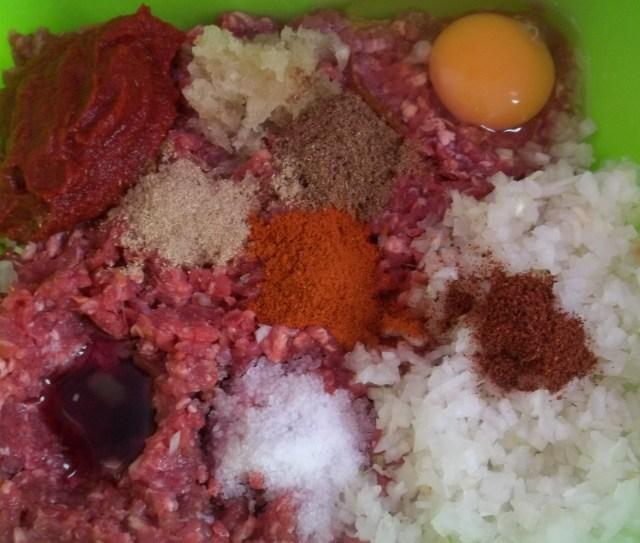 Ingredients for Kababi Recipe