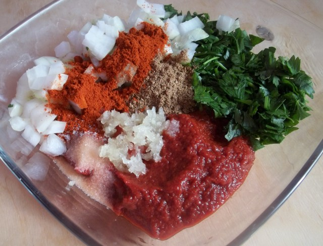 Ingredients for Kababi Sauce