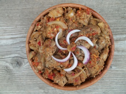 chicken-liver-with-ajika-and-summer-savory-ready-for-serving