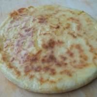 KHACHAPURI WITH POTATO FILLING