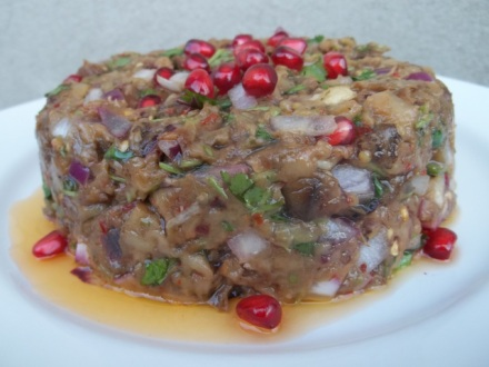 eggplant-caviar-with-pomegranate