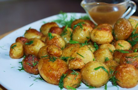 New Potatoes with Dill