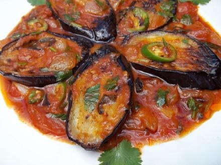 eggplant-with-tomato-sauce