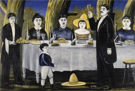 tradition-niko-pirosmani-family-feast-1907