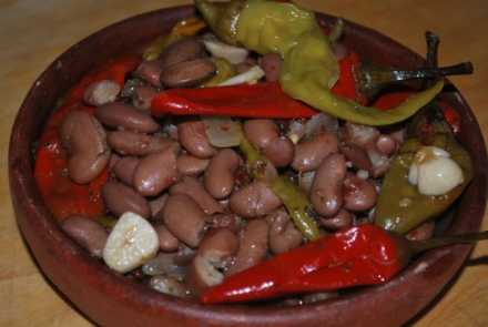lobio-with-marinated-peppers